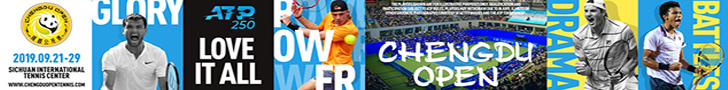 Get tickets for the Chengdu Open, an ATP 250 tennis tournament