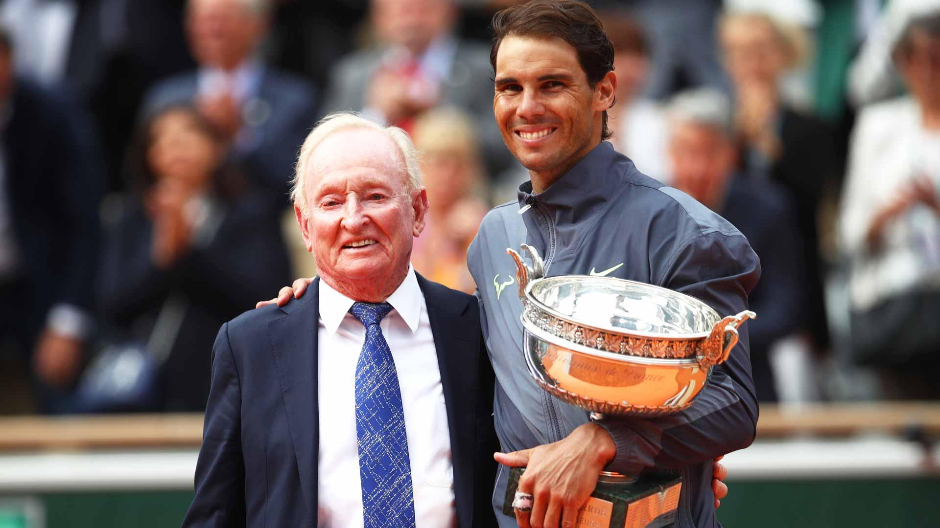 Rafael Nadal & Rod Laver