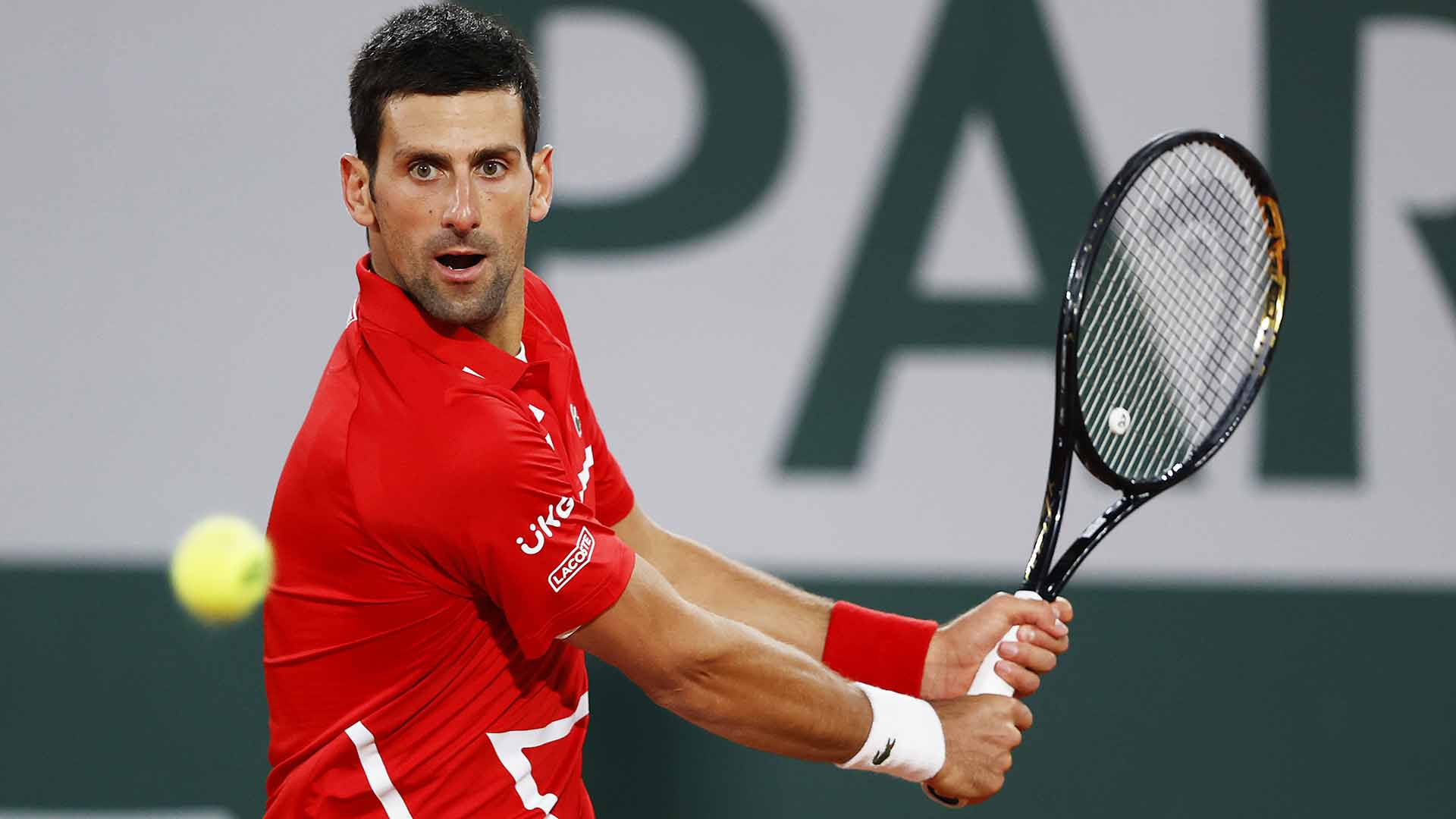 Novak Djokovic is chasing his 18th Grand Slam title.