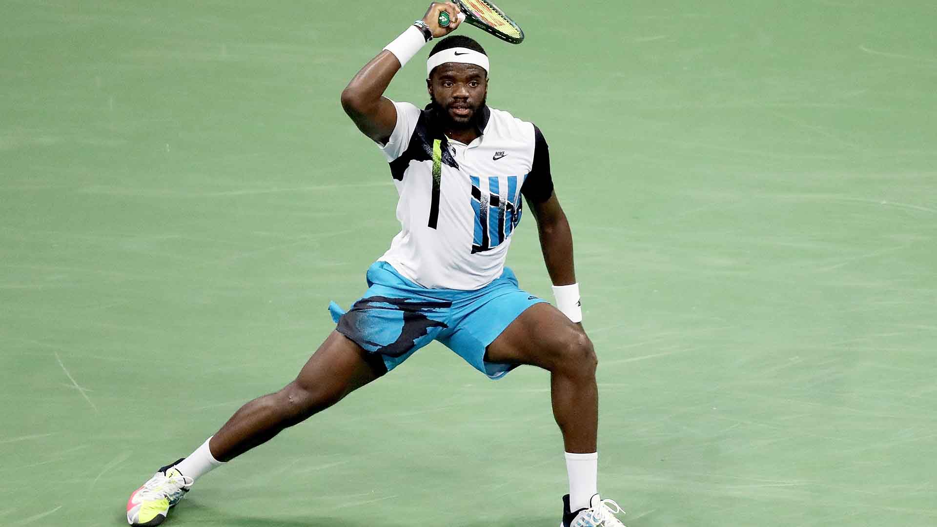 Frances Tiafoe reached the US Open fourth round for the first time in 2020.