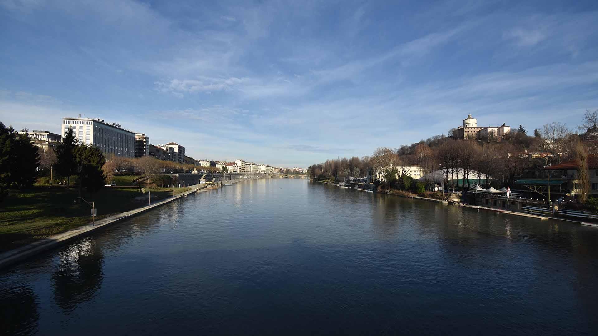 Turin city vista