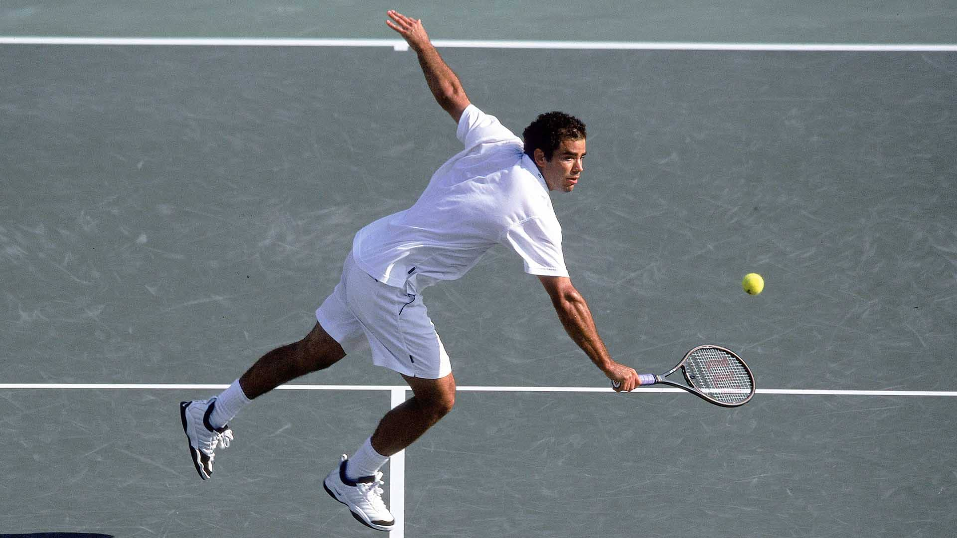 Pete Sampras claims his final ATP Masters 1000 title in Miami in 2000.