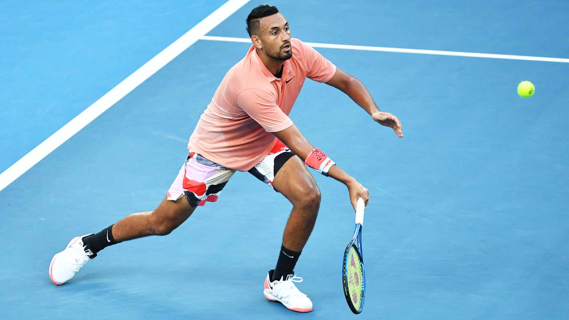 Nick Kyrgios is the 23rd seed at the Australian Open.