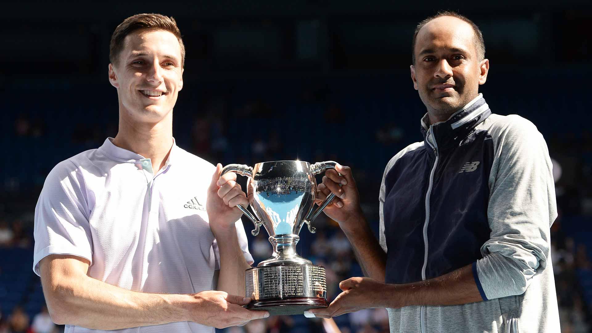 Joe Salisbury/Rajeev Ram trophy