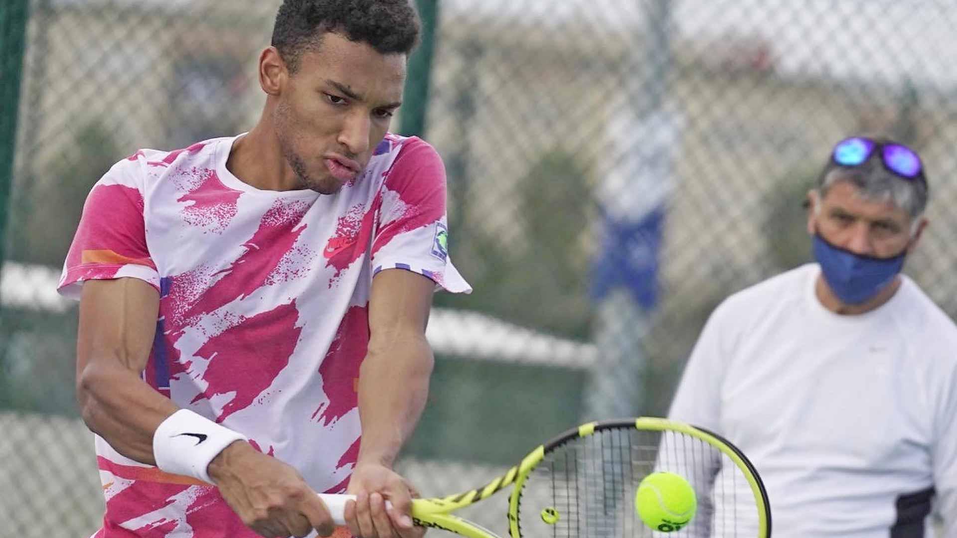 Felix Auger-Aliassime, Toni Nadal