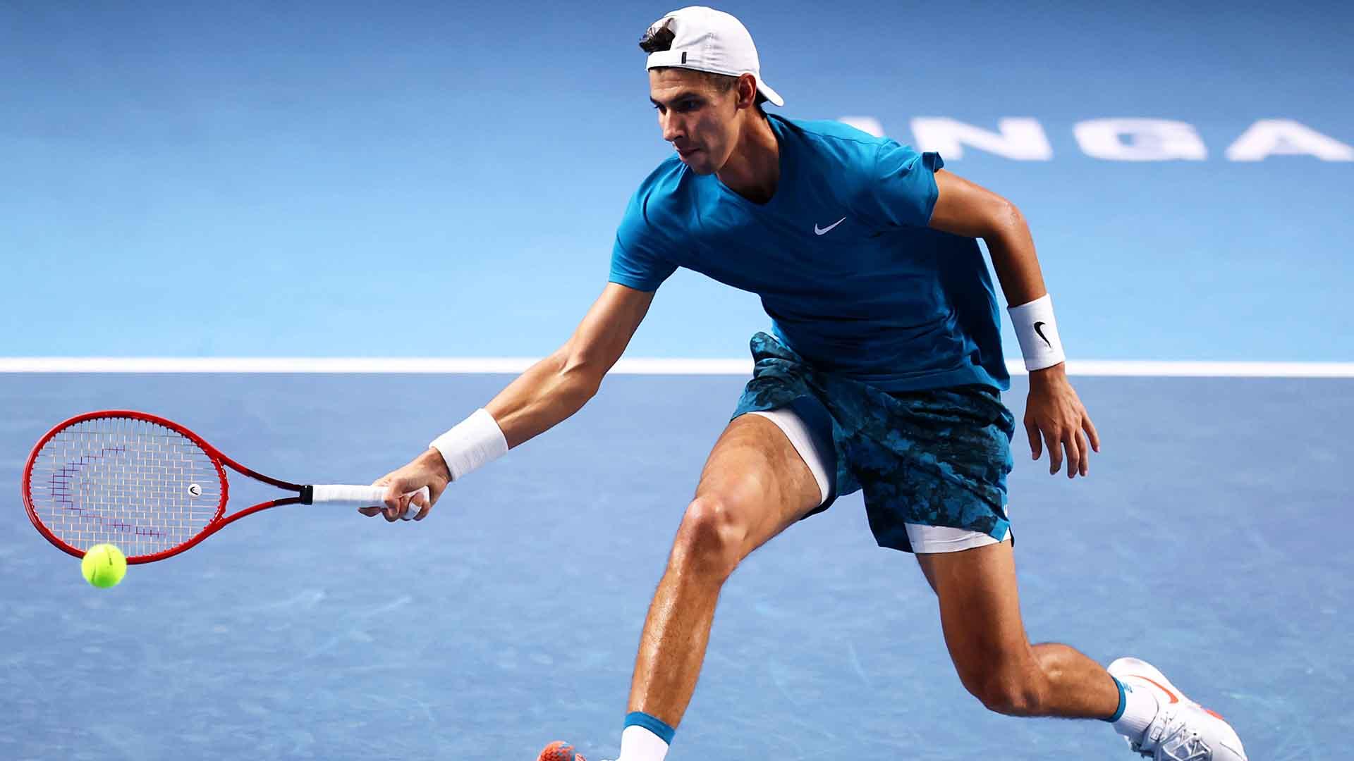 Alexei Popyrin will face Alexander Bublik for the Singapore Tennis Open title on Sunday.
