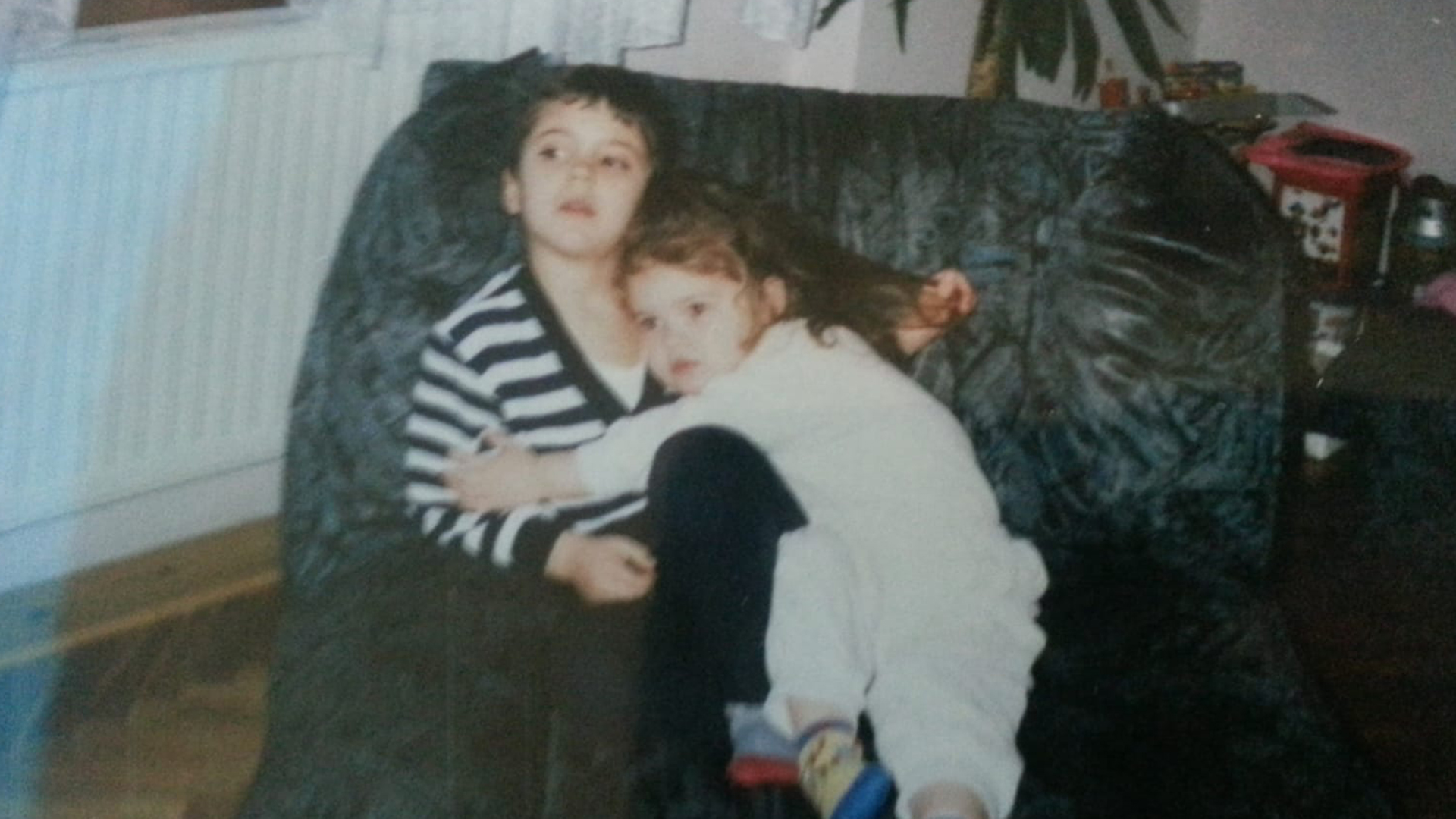 Laslo Djere and his sister Judit