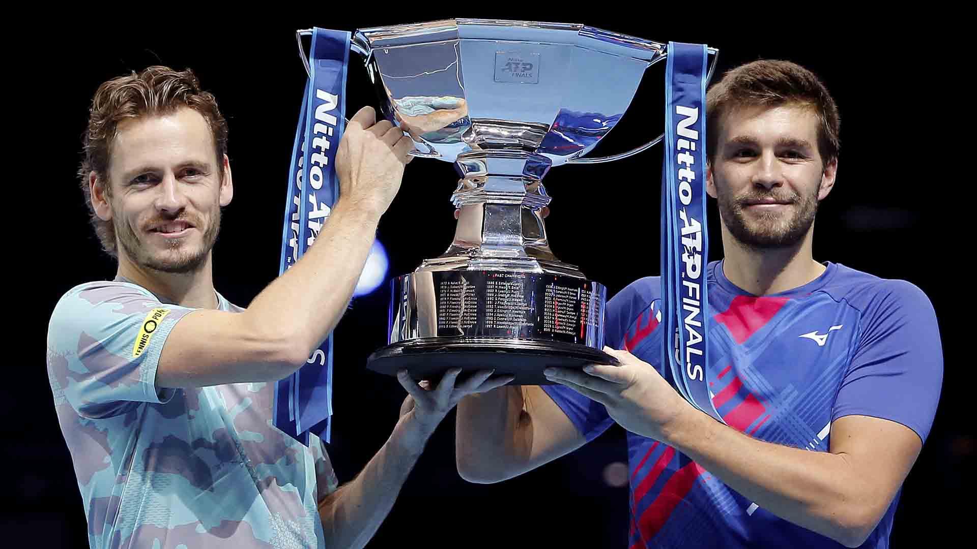 Wesley Koolhof and Nikola Mektic end their 2020 ATP Tour season with a 24-13 team record.