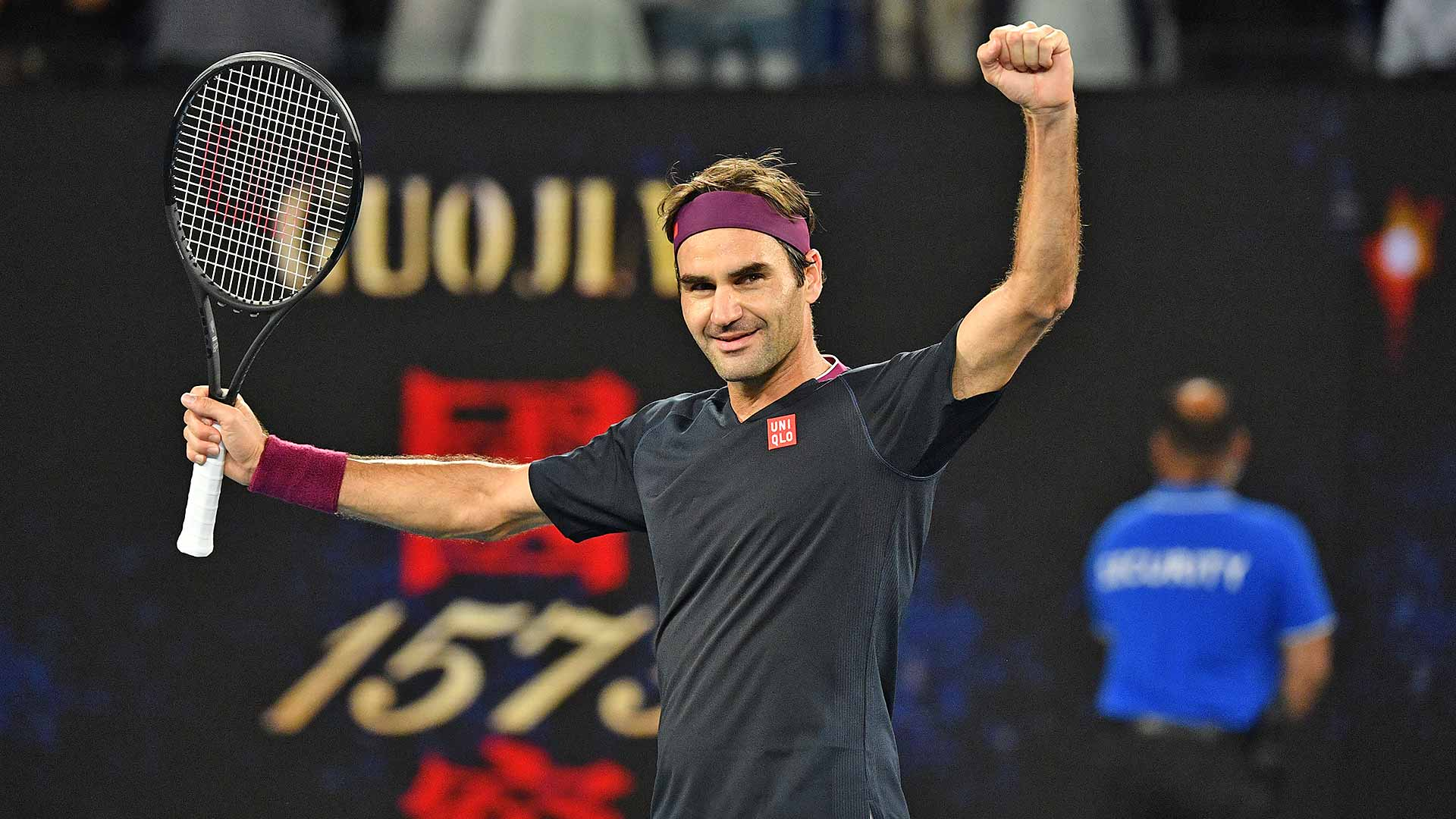 Roger Federer rallies from 4-8 in the deciding set match tie-break to reach the Australian Open fourth round.