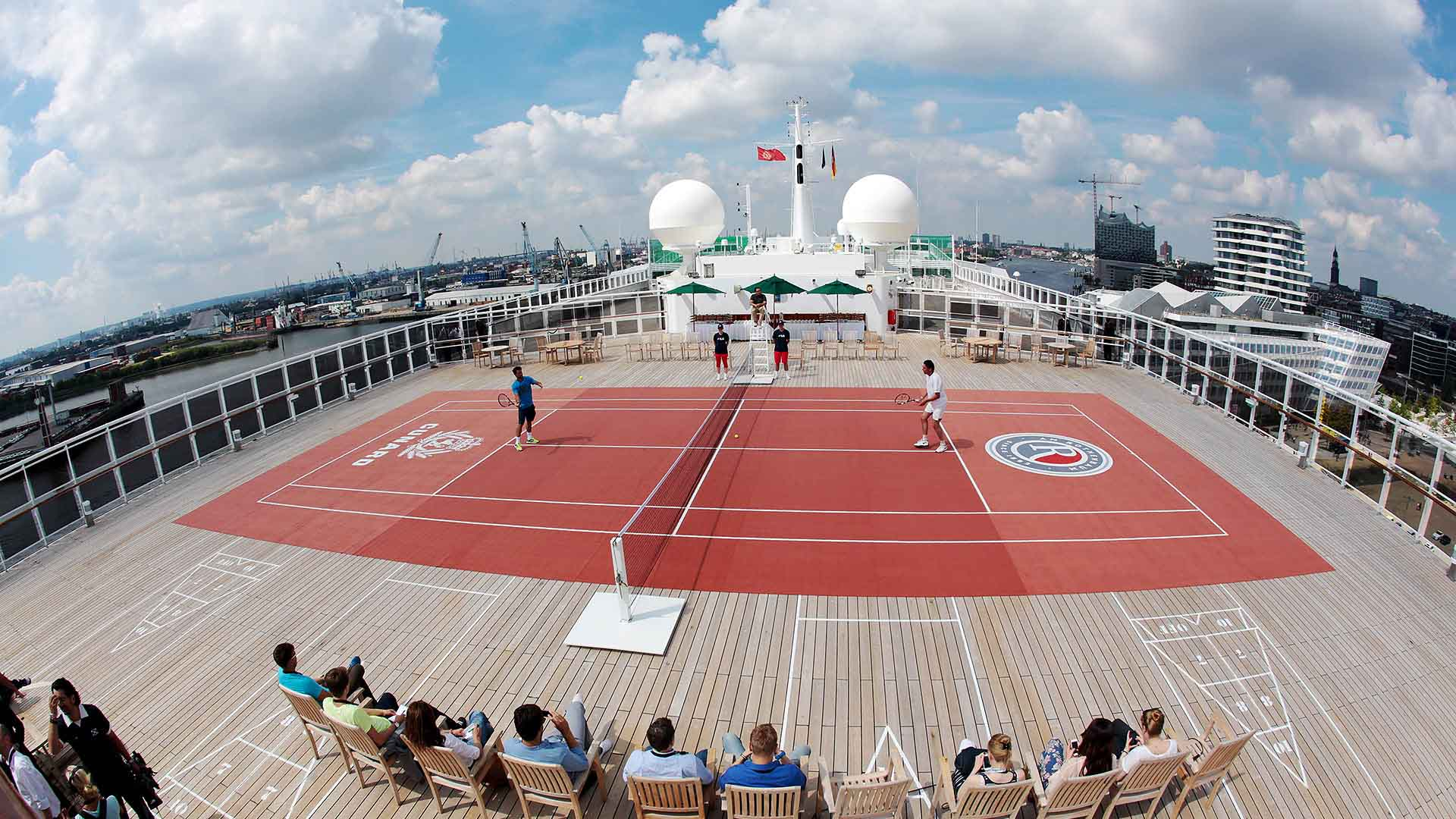 Hamburg 2014 Tuesday Fognini Stich Queen Mary