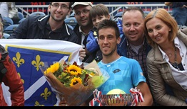 Damir Dzumhur won his fifth ATP Challenger Tour title and second of the year in Alphen.