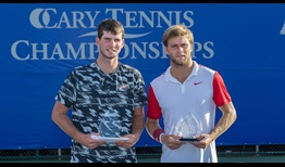 Dennis Novikov wins his maiden ATP Challenger Tour title in Cary.