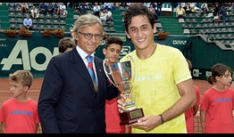 Nicolas Almagro won his first ATP Challenger Tour title in 11 years, triumphing in Genova.