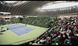 The ATP Challenger Tour is in Kobe, Japan for the first time.