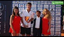 Federico Delbonis won his second ATP Challenger Tour title of the year.
