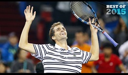 Albert Ramos-Vinolas ended an 0-15 run against Top-10 competition when he shocked defending champ Roger Federer in Shanghai.