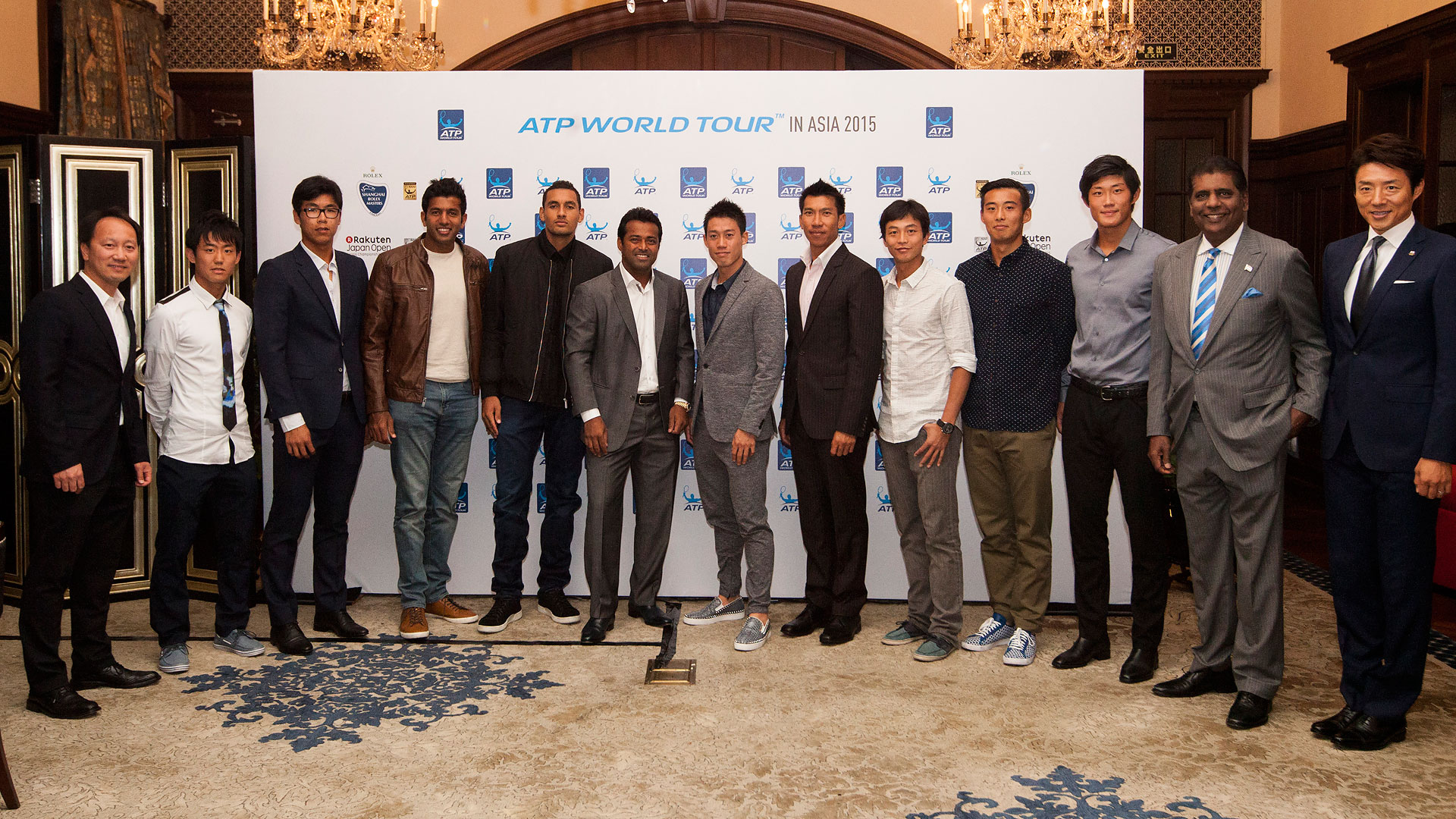 ATP in Asia, tennis celebration