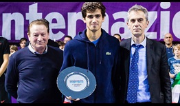 Pierre-Hugues Herbert won his third ATP Challenger Tour title in Bergamo, Italy.
