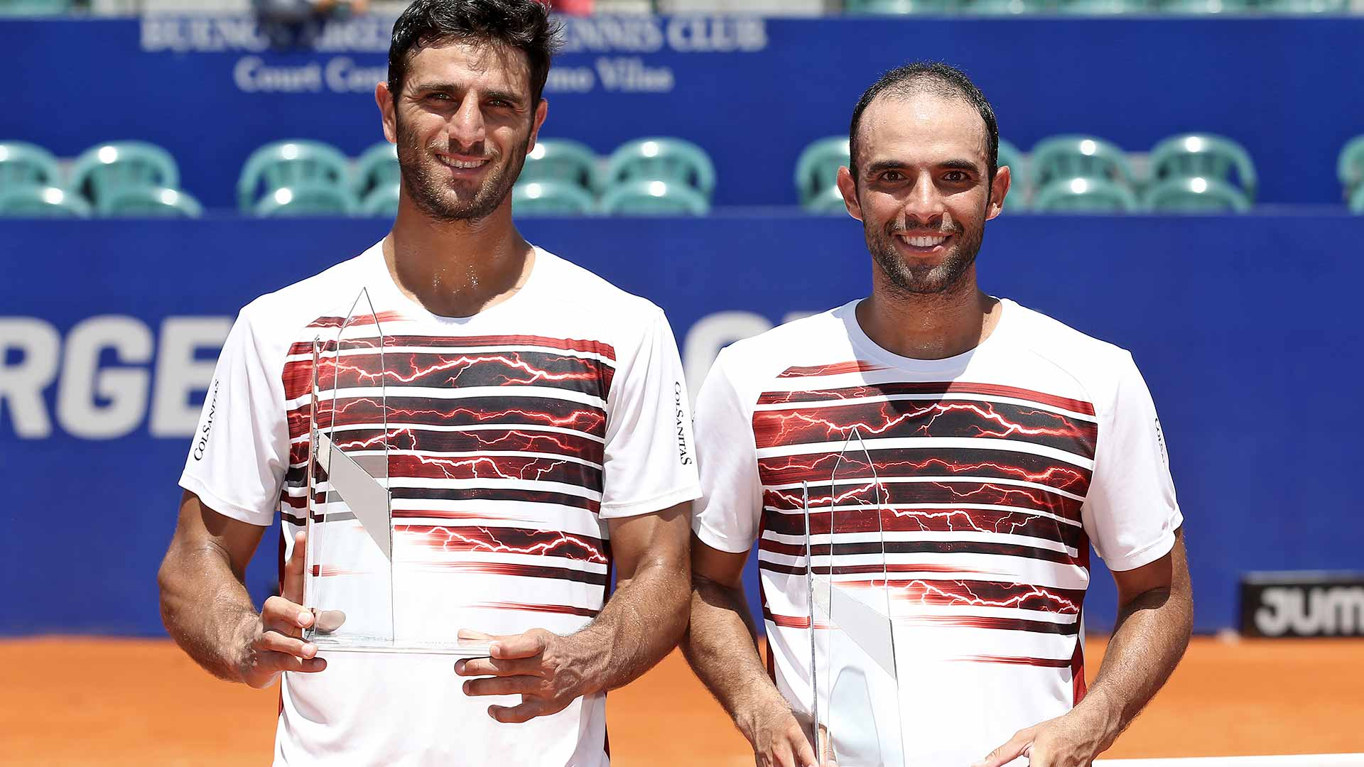 Robert Farah and Juan Sebastian Cabal win their fifth team title in Buenos Aires.