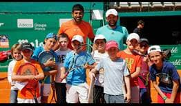 Bopanna-Mergea-Monte-Carlo-2016-Sunday-Kids-Day