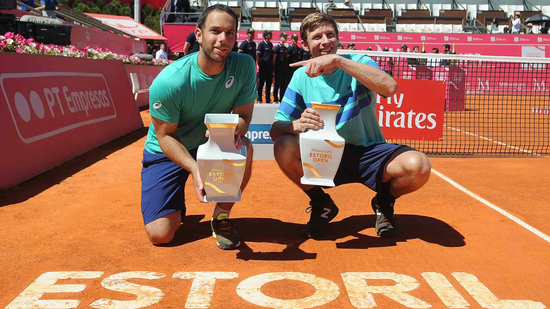 Scott Lipsky and Eric Butorac capture their third team title in Estoril.