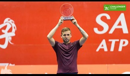 Daniel Evans won his second ATP Challenger Tour title of 2016 in Taipei.