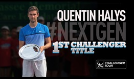#NextGen star Quentin Halys said his maiden ATP Challenger Tour title in Tallahassee is just the beginning.