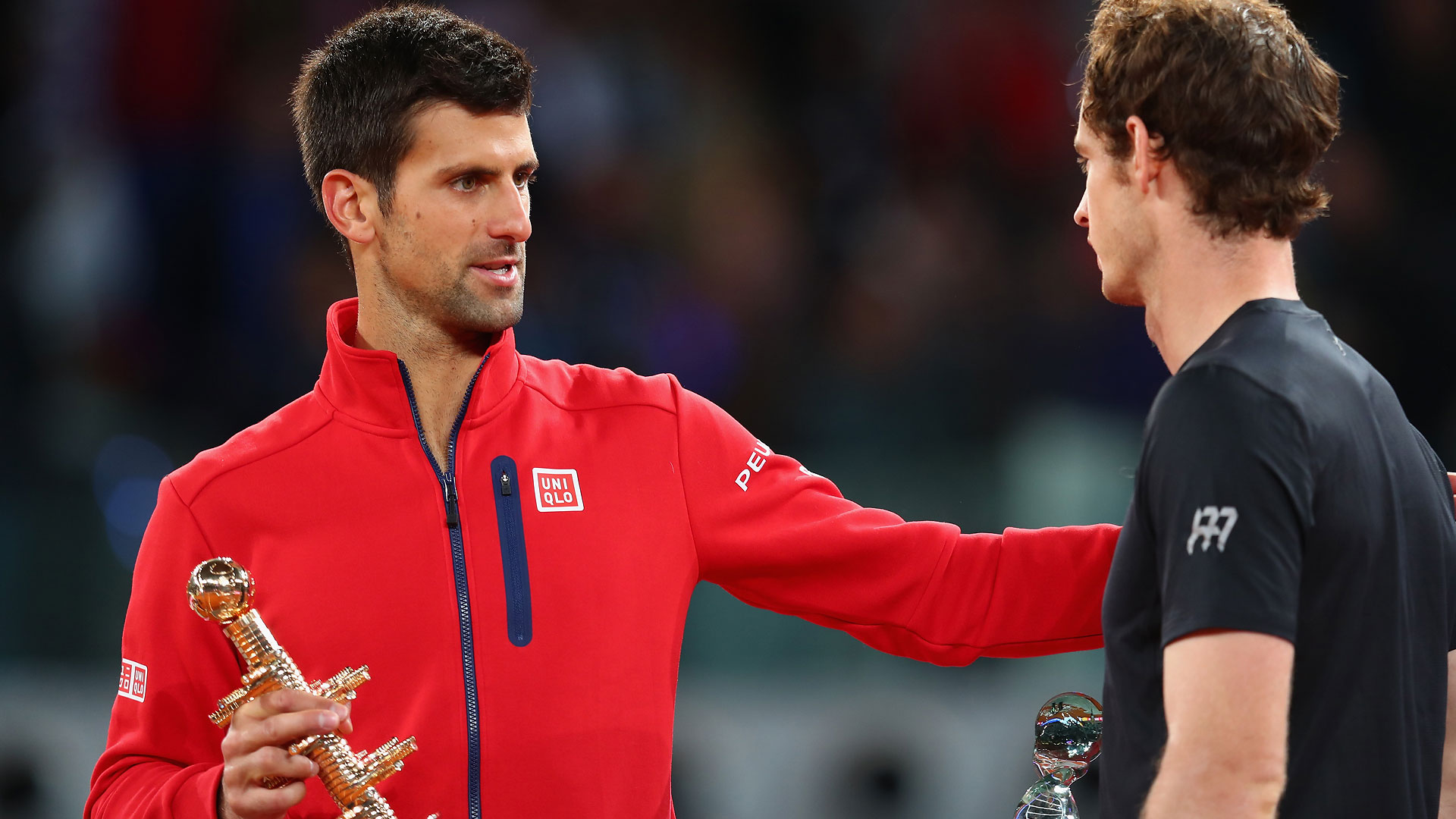 Djokovic, Murray