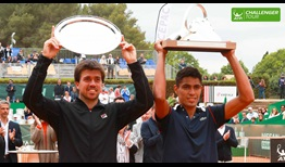 Thiago Monteiro won his first ATP Challenger Tour title in Aix-en-Provence.