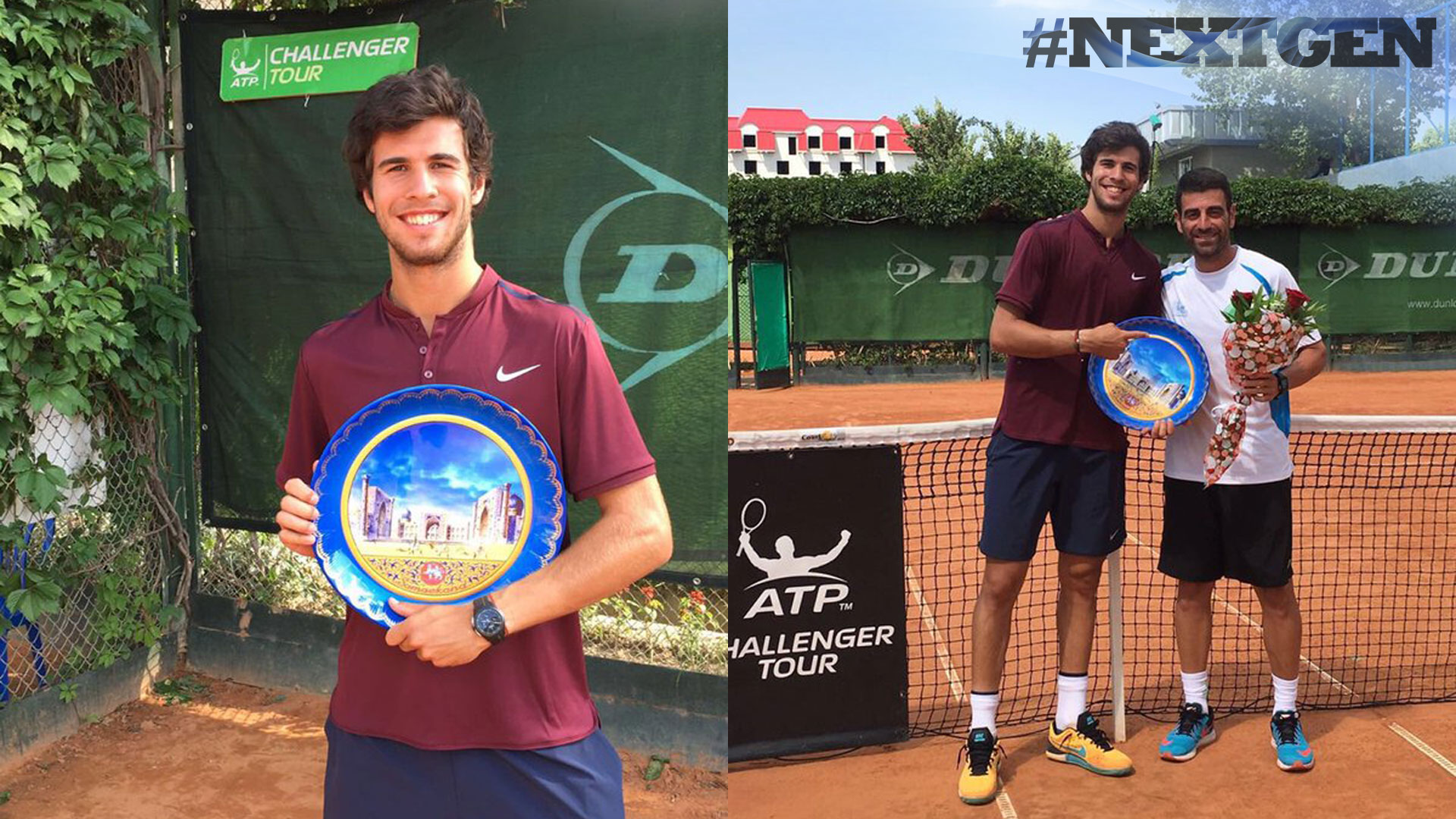 #NextGen star Karen Khachanov won his first ATP Challenger Tour title of the year in Samarkand.