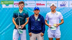 James Duckworth won his first ATP Challenger Tour title of the year in Bangkok.
