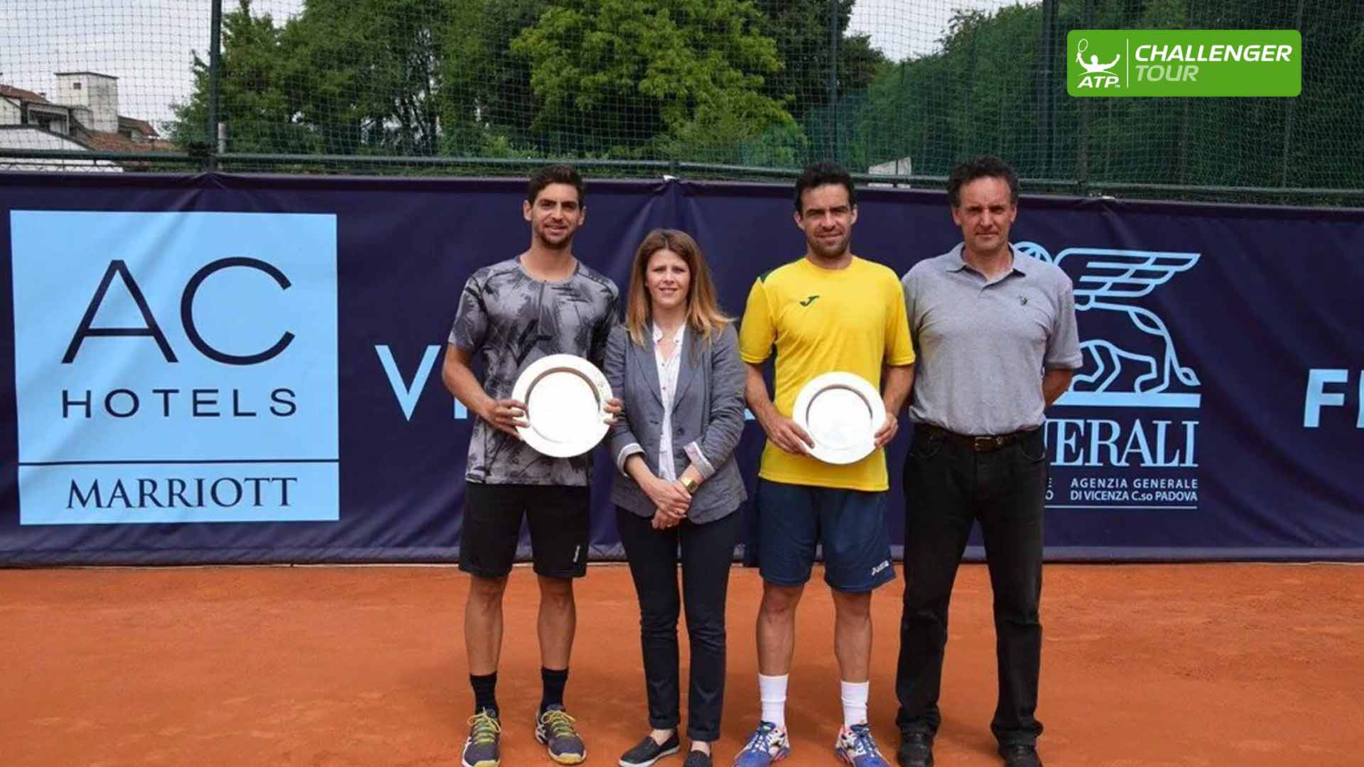 Guido Andreozzi wins his second ATP Challenger Tour title of the year in Vicenza.