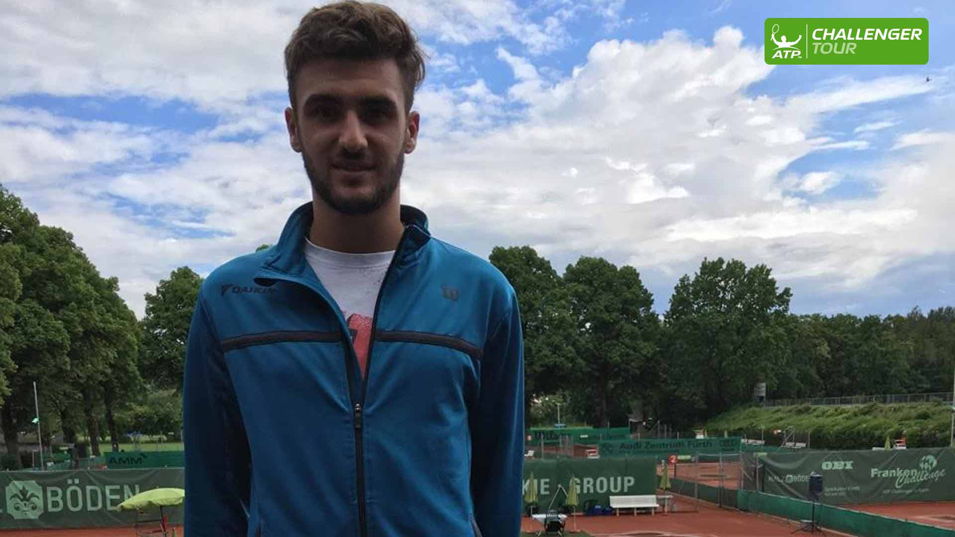 Paul Woerner made his ATP Challenger Tour main draw debut in Furth.