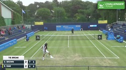 Dustin Brown takes hot shot honours once again at the ATP Challenger Tour event in Manchester.