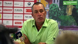 Ivan Lendl has spent this week promoting the ATP Challenger Tour event in Prostejov.