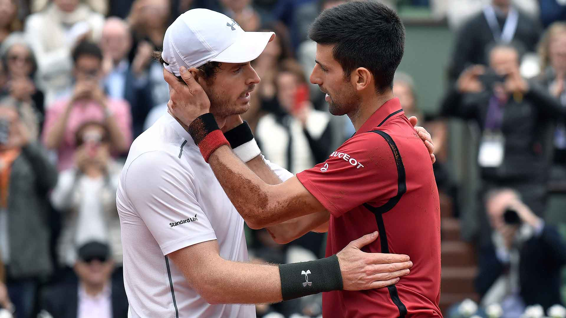 <a href='/en/players/andy-murray/mc10/overview'>Andy Murray</a> falls to <a href='/en/players/novak-djokovic/d643/overview'>Novak Djokovic</a> in the pair's seventh Grand Slam final meeting.