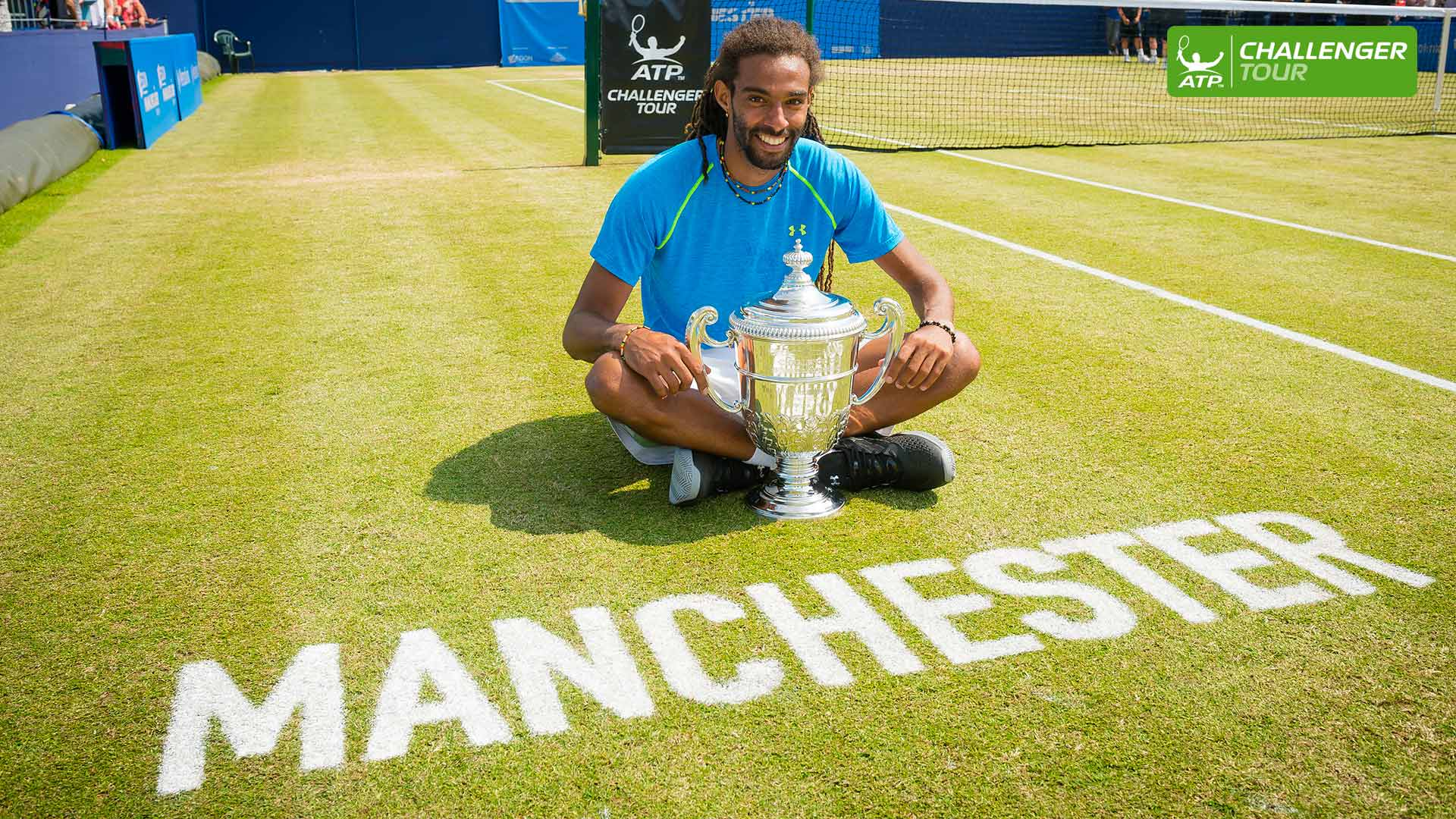 Dustin Brown won his first ATP Challenger Tour title of the year in Manchester.