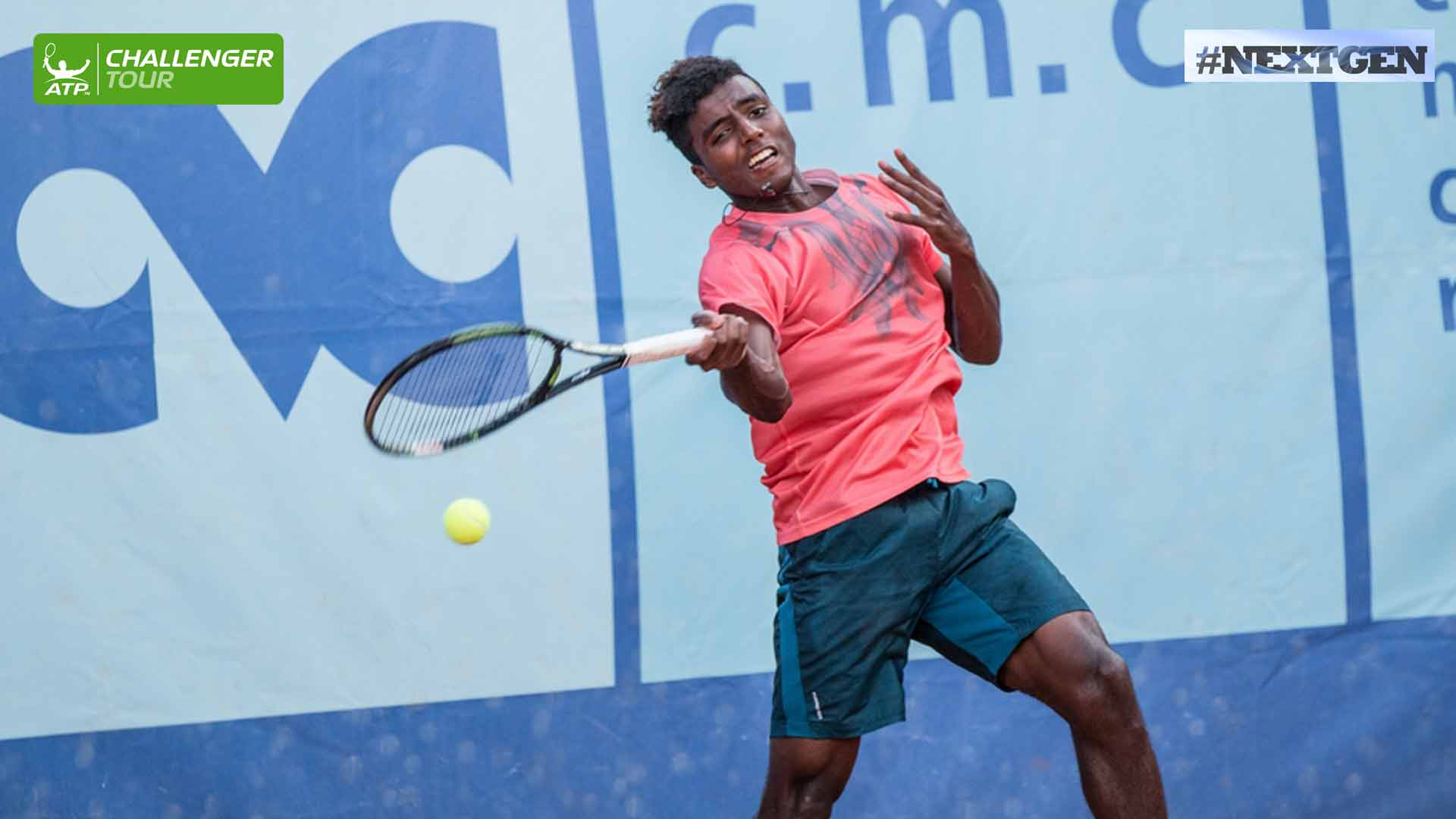 Elias Ymer is playing two clay court events in Italy this month on the ATP Challenger Tour.