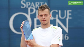 Adam Pavlasek won his first ATP Challenger Tour title of the year in Prague.