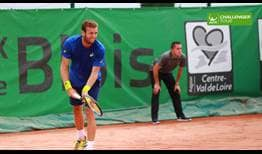 Mathias Bourgue is having a successful year on the ATP Challenger Tour.