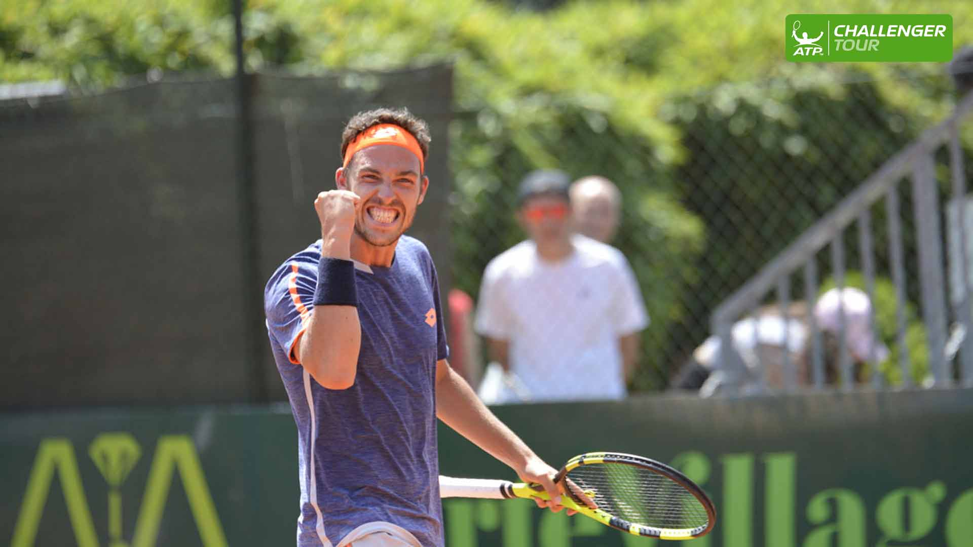 Marco Cecchinato wins the ATP Challenger Tour event in Milan.