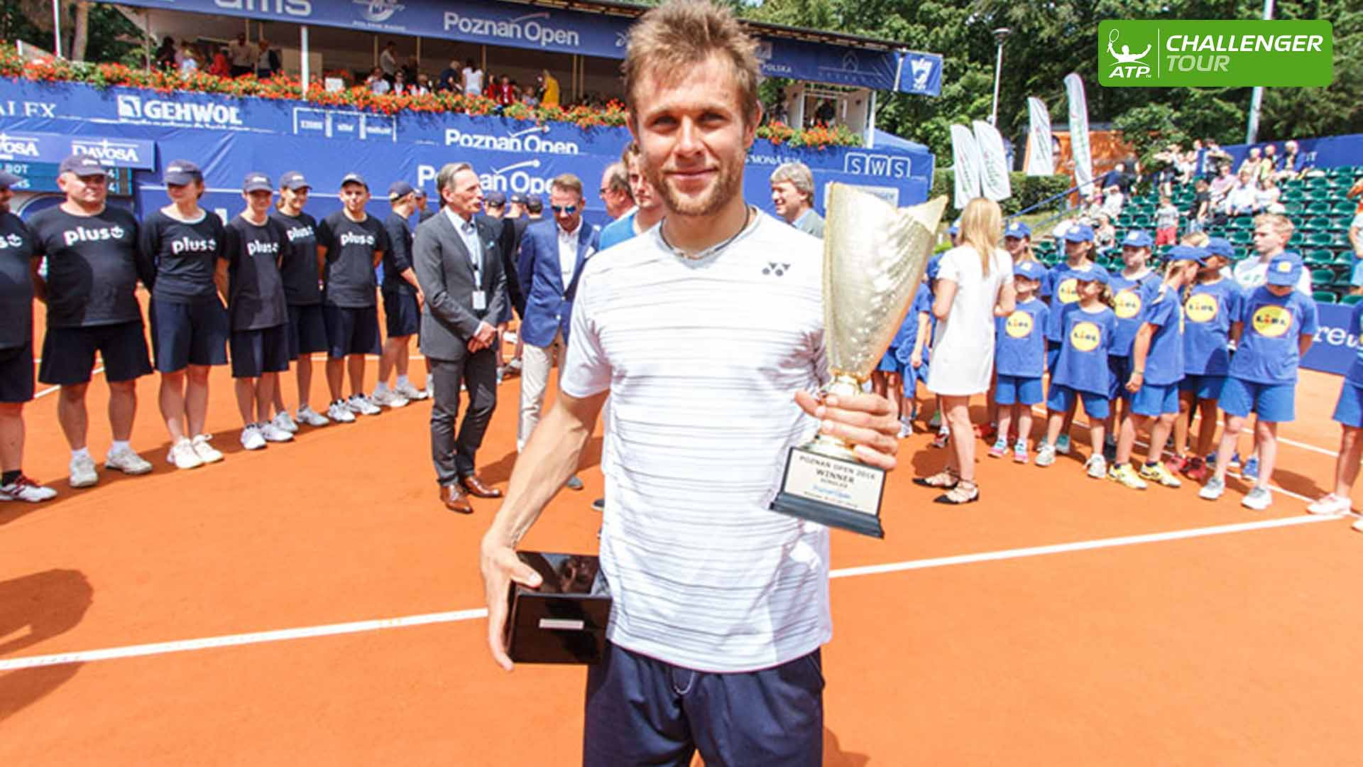 Radu Albot wins his third ATP Challenger Tour title of the year in Poznan.