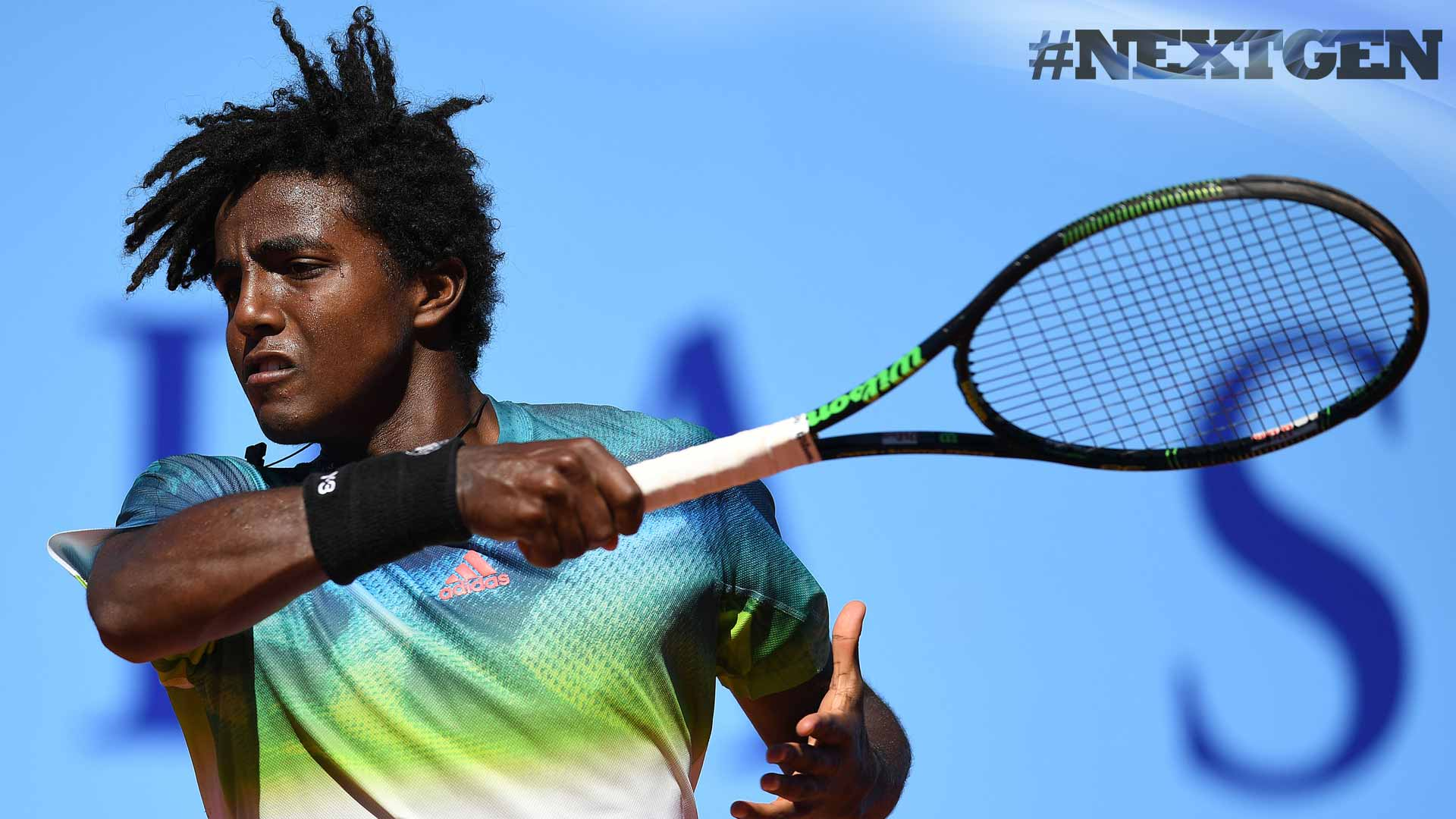 Elias Ymer advances on Wednesday at the J. Safra Sarasin Swiss Open in Gstaad.