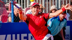 Carlos Berlocq has yet to drop a set at the Konzum Croatia Open Umag.