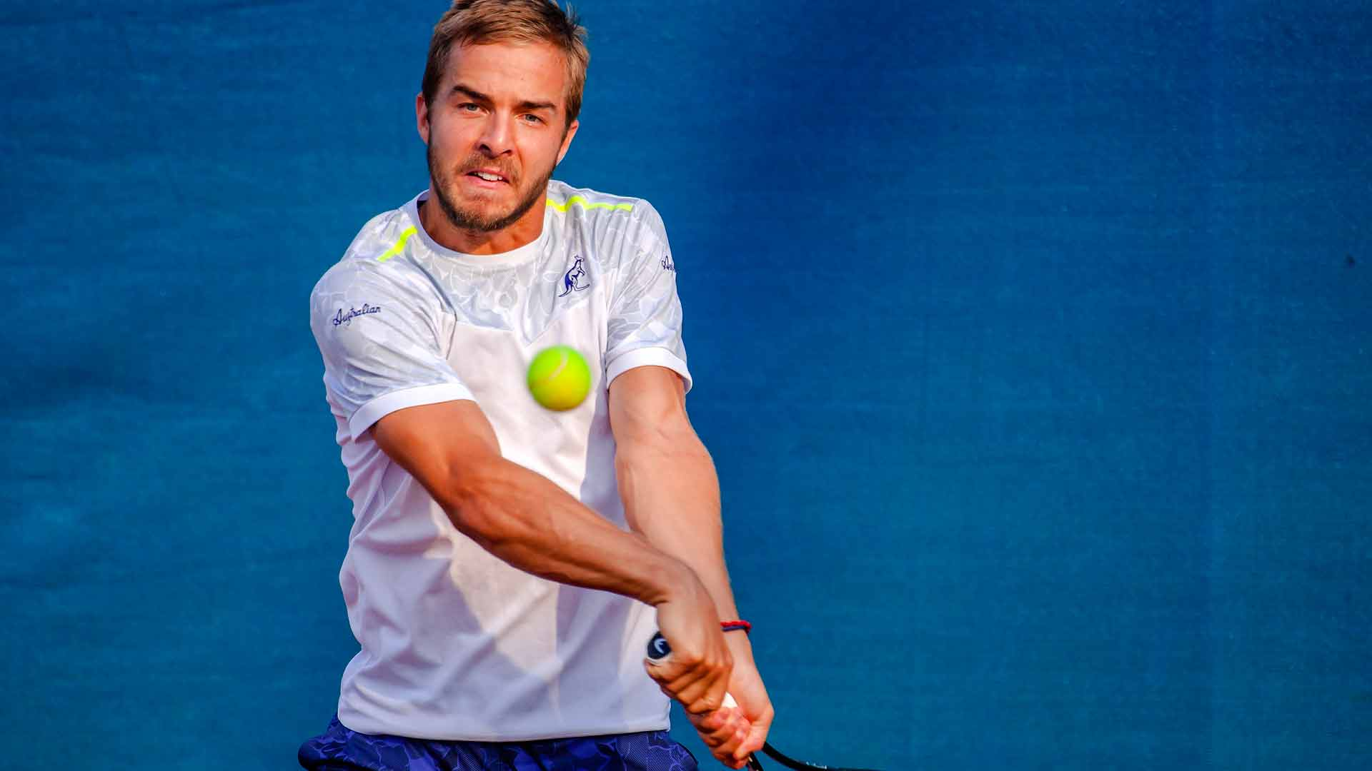 Andrej Martin continues his dream run at the Konzum Croatia Open Umag.