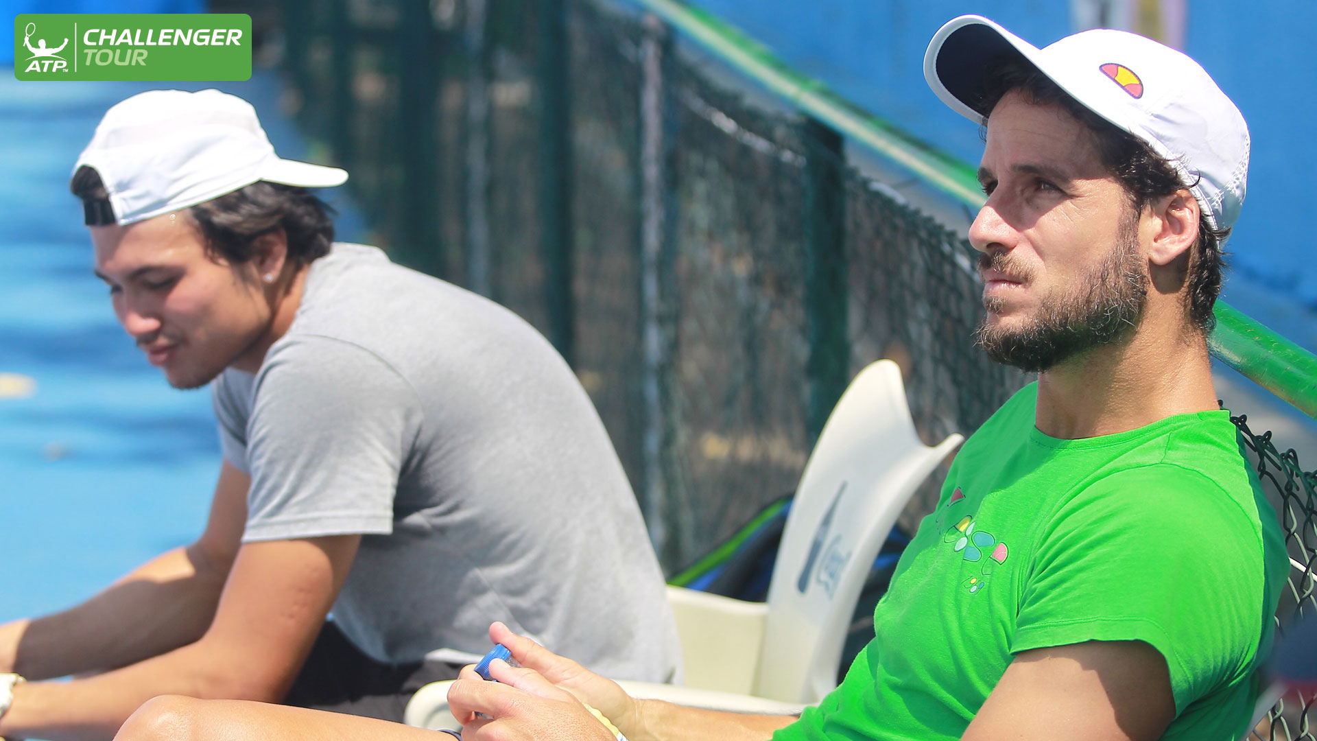 Feliciano Lopez makes an appearance at the ATP Challenger Tour event in Segovia.