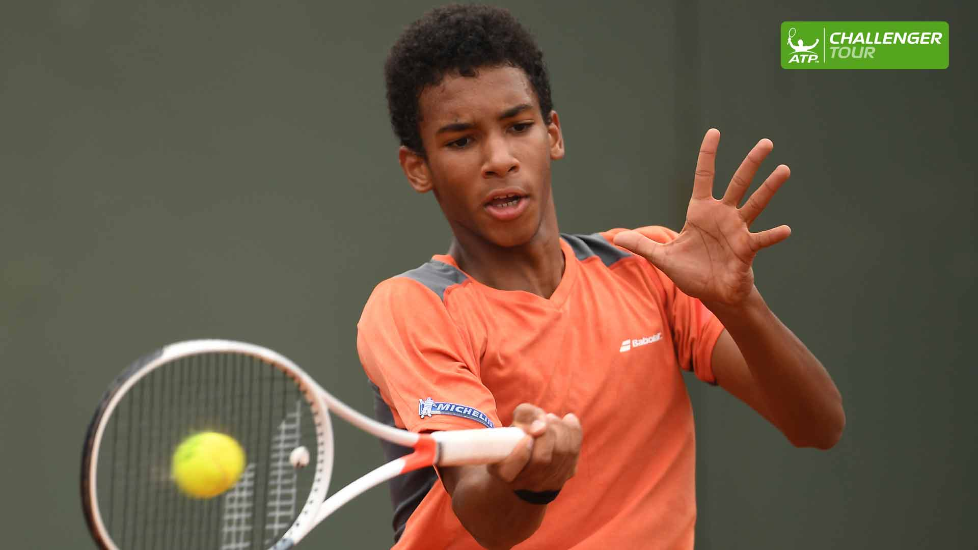 Felix Auger-Aliassime returns to the site of his ATP Challenger Tour breakthrough in Granby.