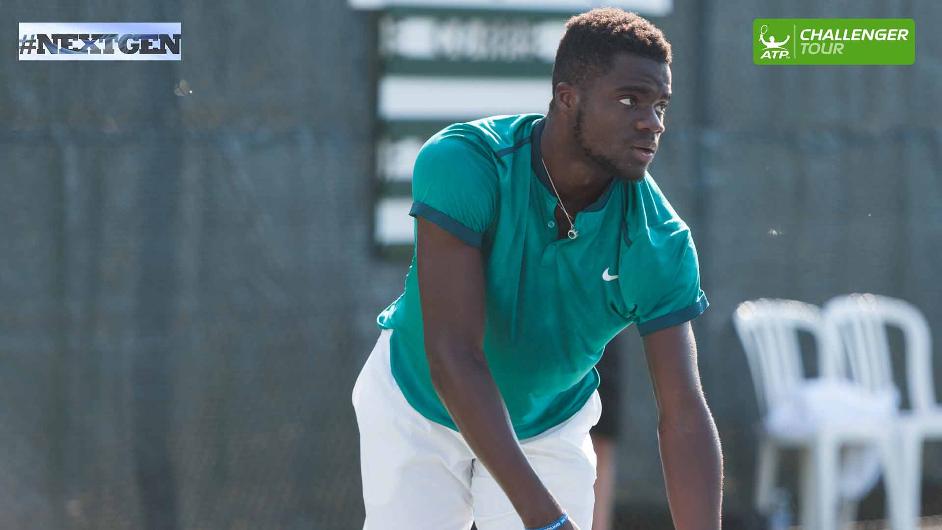Frances Tiafoe is 11-3 this summer on the ATP Challenger Tour.