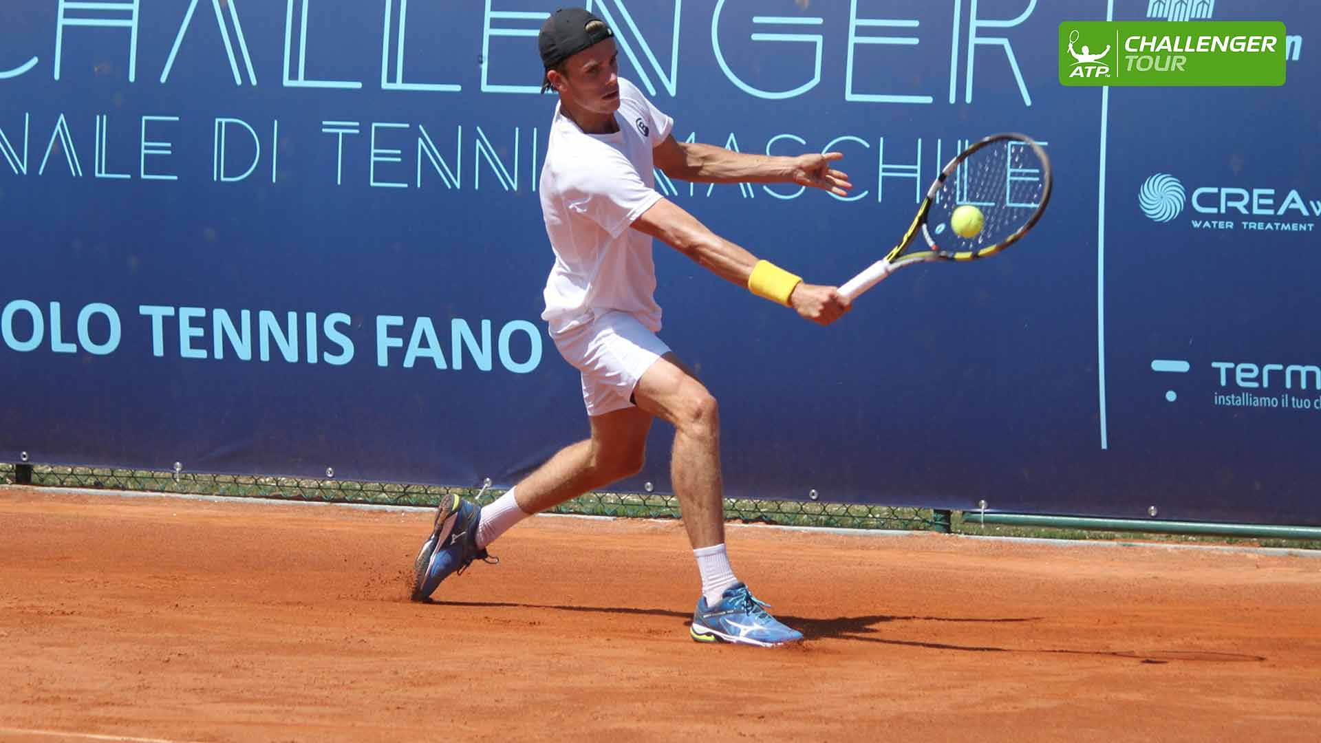 Arthur De Greef is on a six-match win streak on the ATP Challenger Tour.