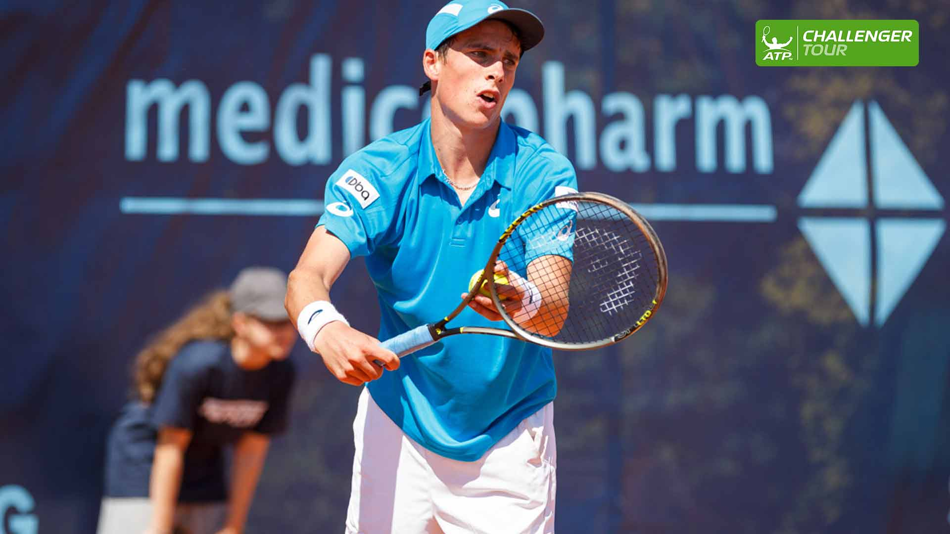 Geoffrey Blancaneaux wins his first ATP Challenger Tour main draw match in Trnava.